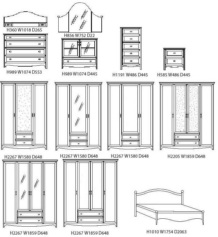 Инструкция по сборке стенки